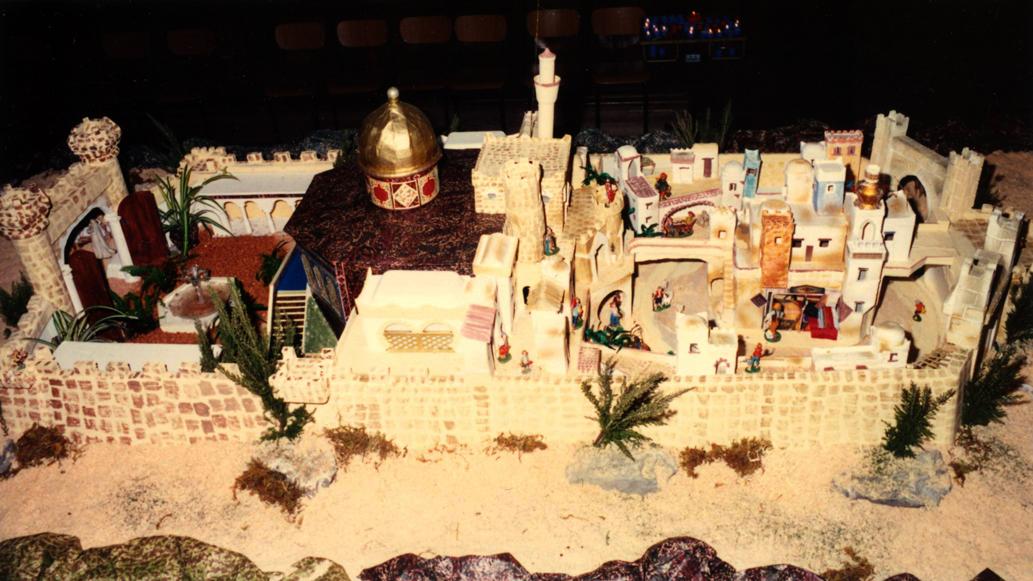 Presepe 1993-94 Gerusalemme