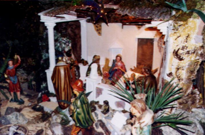Presepe 2001-02 Il tempio distrutto