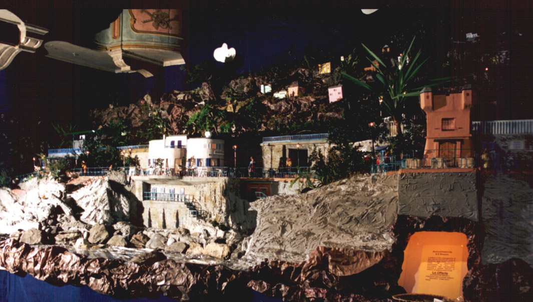 Presepe 1996-97 Passeggiata a mare