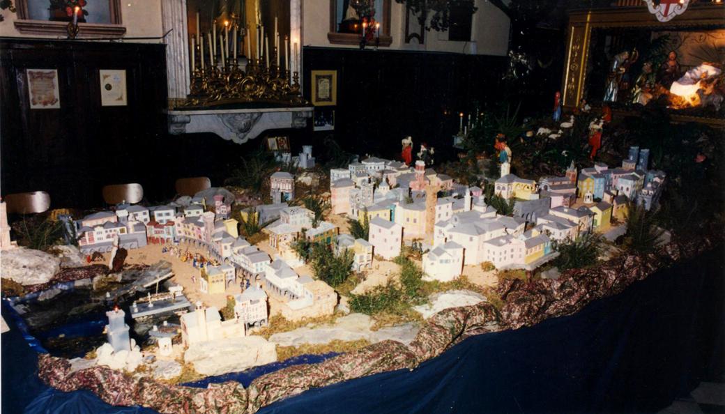 Presepe 1995-96 Genova acqua